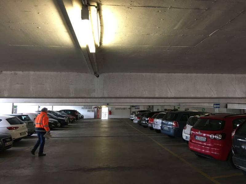 Gutachten und Beweissicherung eines P&R Parkhauses
