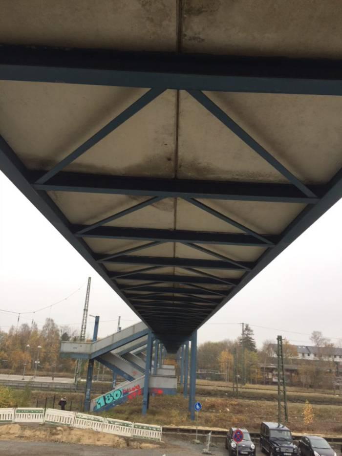 Zustandserfassung Stahl-Fachwerk-Brücke